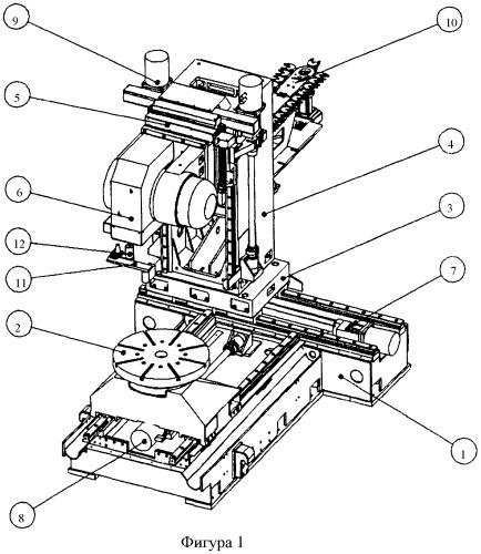 Станок многоцелевой с числовым программным управлением, лазерной оптической головкой и автоматической сменой инструмента