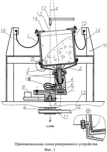Реверсивное устройство для отделочной обработки