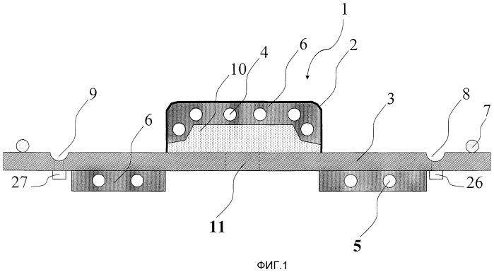 Формовочно-литьевое устройство и способ производства преформ и армированных волокном пластмасс с помощью формовочно-литьевого устройства