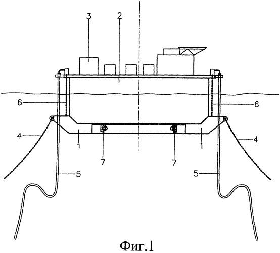 Якорная система и плавучая установка для нефтедобычи, хранения и выгрузки с якорной системой