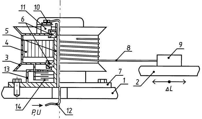 Устройство для определения взаимного перемещения конструктивных элементов машины и/или для передачи энергии между ними