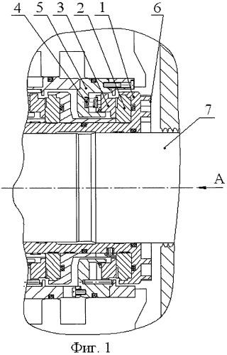 Торцовое газодинамическое уплотнение вала центробежного компрессора