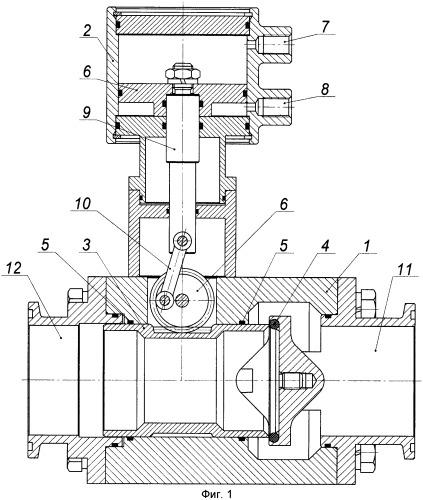 Клапан с линейным приводом