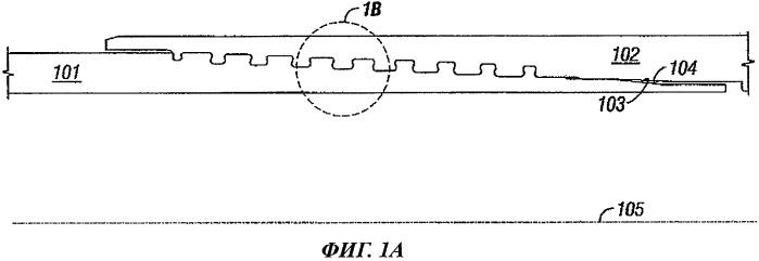 Резьбовое соединение с видоизмененными рабочими сторонами профиля резьбы