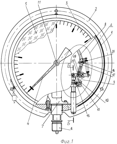 Глубиномер манометрический гм-08