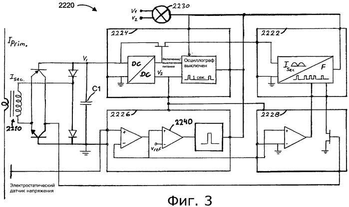 Датчик для измерения переменного тока в проводнике и индикаторная система, содержащая такой датчик