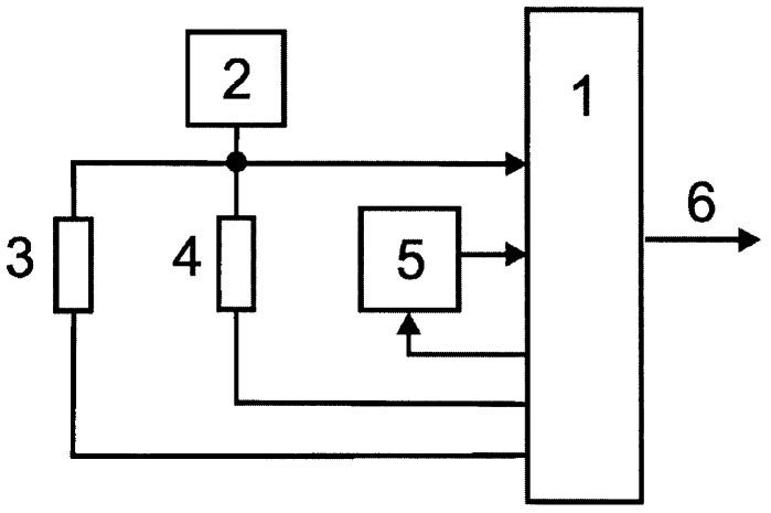Микроконтроллерный измерительный преобразователь сопротивления в двоичный код