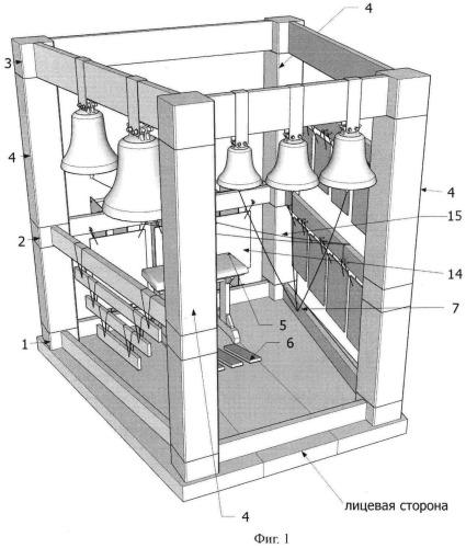 Концертная колокольная установка