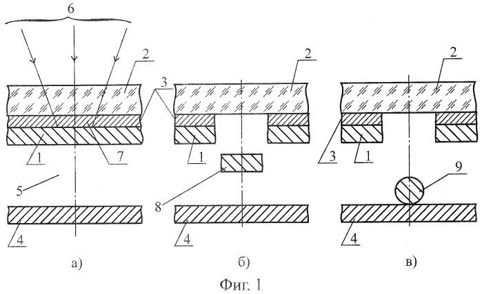 Способ образования на подложке упорядоченного массива наноразмерных сфероидов