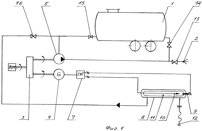 Способ и устройство для обеззараживания жидких стоков