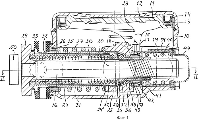 Устройство для регулировки зазора в тормозном приводе рельсового транспортного средства