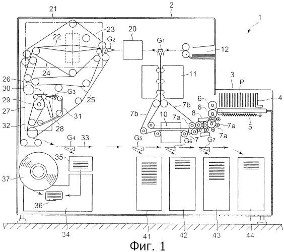 Устройство изменения положения и устройство обработки бумагоподобных материалов