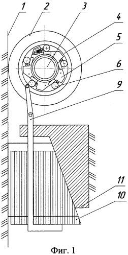 Система аварийного торможения кабины лифта