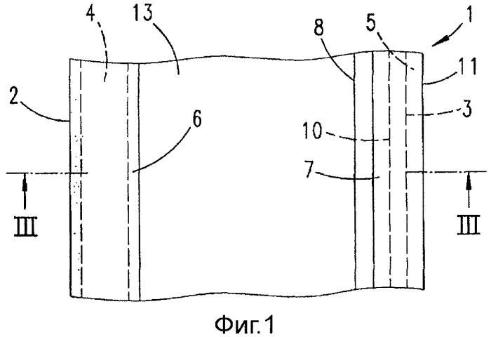 Уплотнительная лента, конструктивный элемент и процесс изготовления уплотнительной ленты