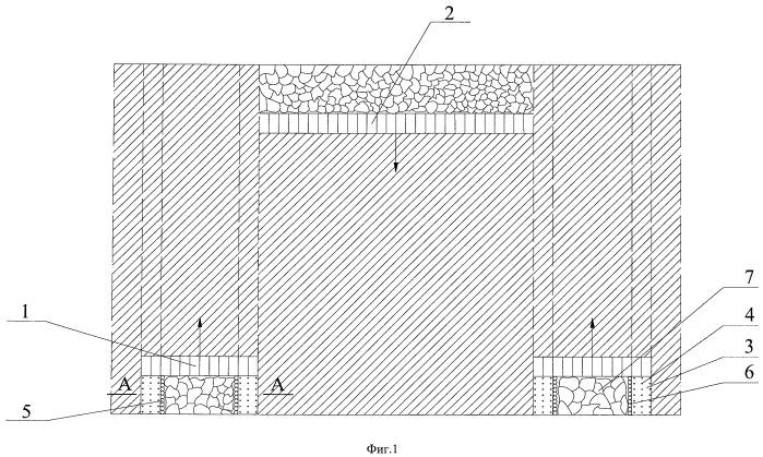 Способ интенсивной отработки пологих угольных пластов механизированными комплексами без предварительной проходки подготовительных выработок