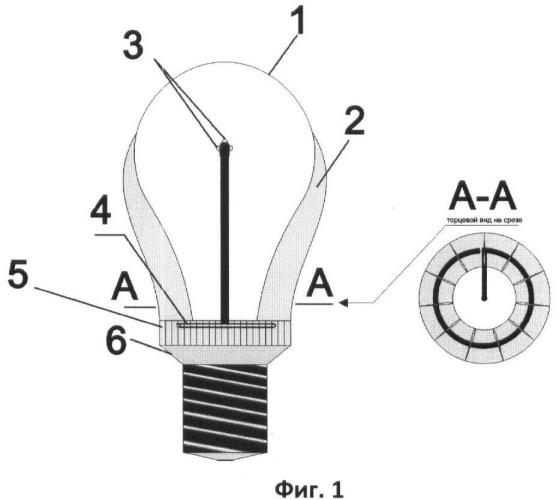 Способ изготовления светодиодной лампы