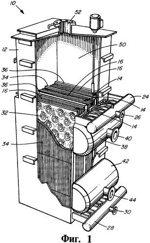 Сушильное устройство (варианты), выпариватель (варианты), способ высушивания корпускулярного материала, способ удаления летучих веществ из сыпучего материала