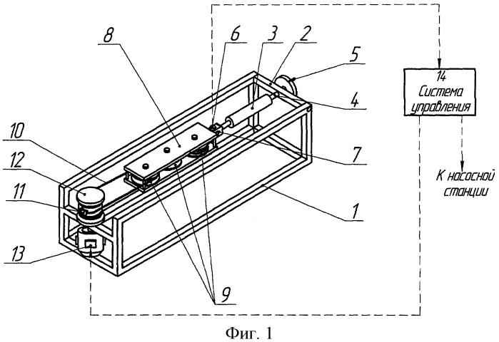 Стенд для испытания стальных канатов на выносливость