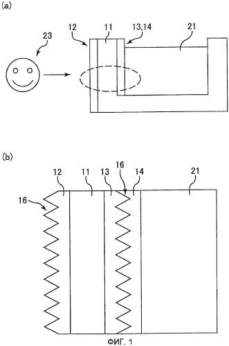 Жидкостный резервуар, устройство наблюдения для наблюдения под поверхностью жидкости и оптическая пленка