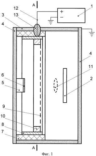 Сверхвысокочастотный генератор на основе виртуального катода