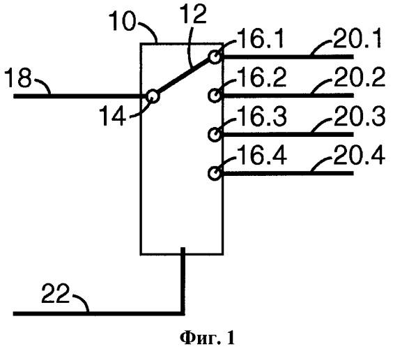 Коммутационный модуль в распределительном узле в области телекоммуникации и сборочные узлы, а также способы их применения
