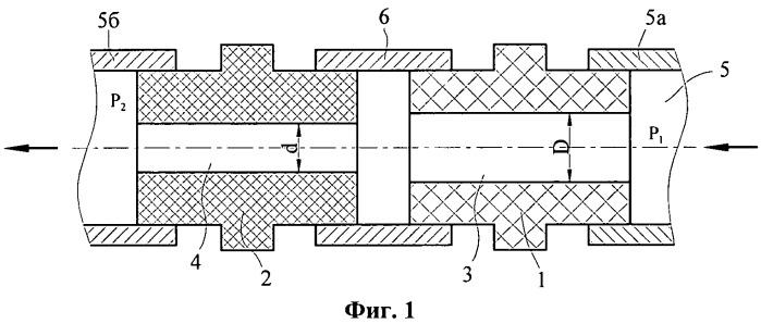 Высоковольтная газоэлектрическая развязка тракта подачи рабочего тела плазменного ускорителя (варианты)