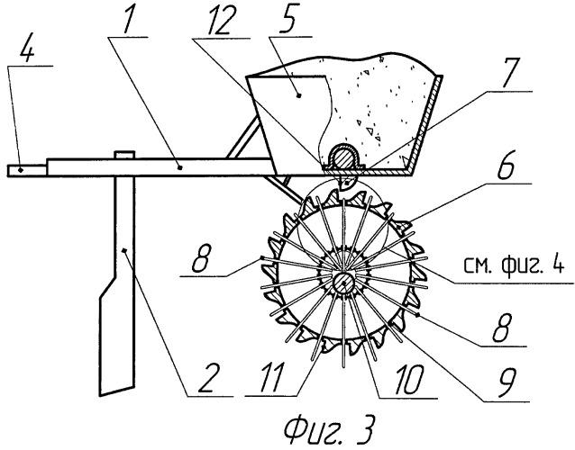 Орудие для измельчения твердых комков и корки на поверхности почвы