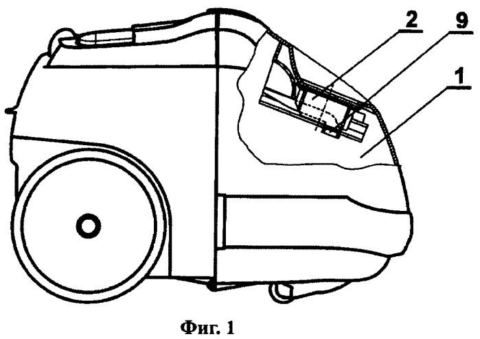 Блокирующее устройство для пылесоса
