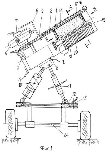 Ствольное метательное устройство