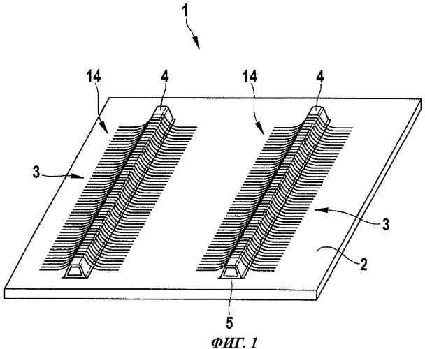 Способ изготовления конструктивного компонента из армированного волокнами композиционного материала с использованием формовочного стержня и формовочный стержень