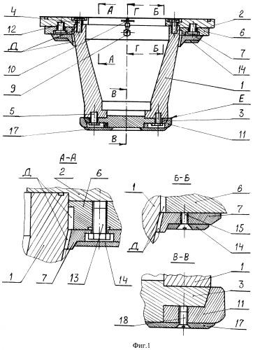 Оправка для изготовления изделий из композиционных материалов