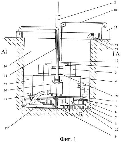 Электроимпульсная буровая установка