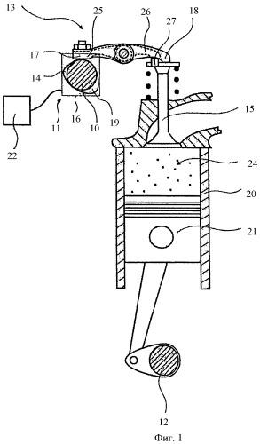 Устройство приведения в действие газораспределительного клапана