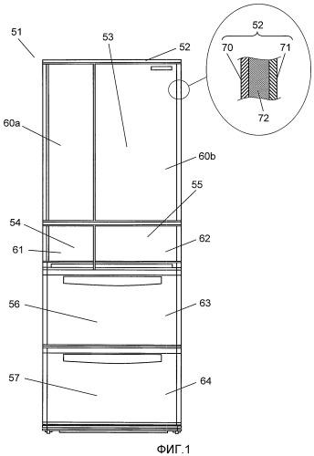 Рельсовое направляющее устройство и холодильник, использующий его
