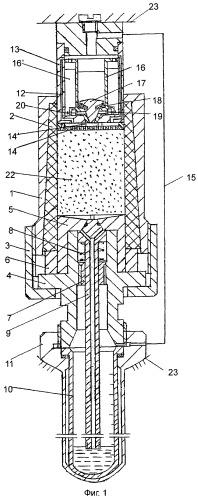 Устройство для определения фазовой проницаемости жидкости в образцах керна горных пород методом центрифугирования