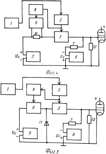 Способ уменьшения интенсивности переходных процессов на элементах выходного каскада ключевого сверхдлинноволнового радиопередающего устройства и радиопередатчик для реализации способа (варианты)