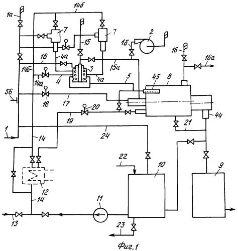 Универсальная массообменная абсорбционно-десорбционная установка