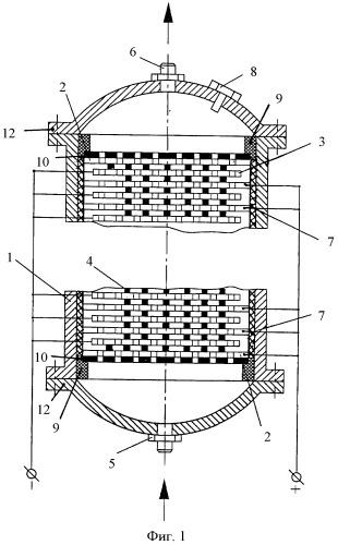 Электроочиститель диэлектрических жидкостей и газов с виброизоляцией
