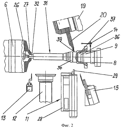 Способ обработки шлифованием конструктивного элемента машины и шлифовальный станок для осуществления способа