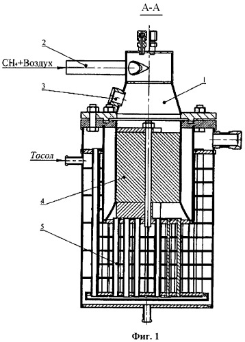 Бортовой генератор для получения синтез-газа