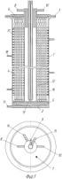 Биореактор вытеснения с мембранным устройством подвода газового питания