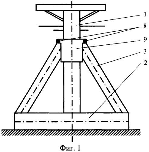 Ледостойкий опорный блок морского инженерного сооружения