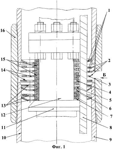 Устройство амортизатора электроцентробежного насоса в скважине
