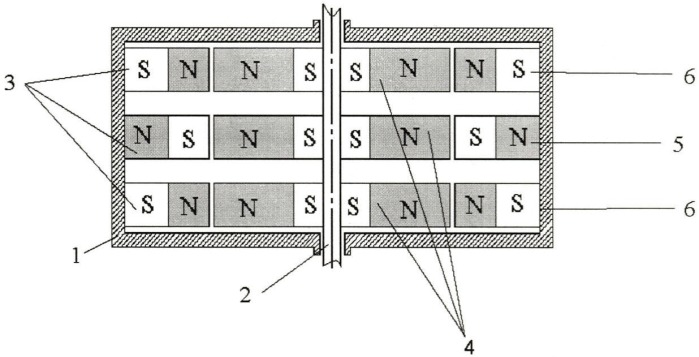 Радиальный подшипник на магнитной подвеске