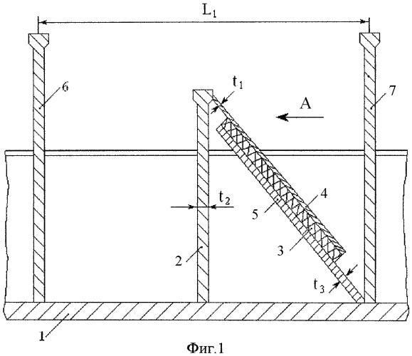 Виброзадерживающее устройство для обшивки корпуса транспортного средства