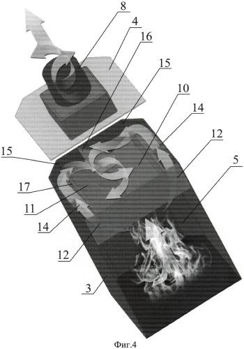 Способ повышения теплоотдачи продуктов сгорания топлива бытовых печей