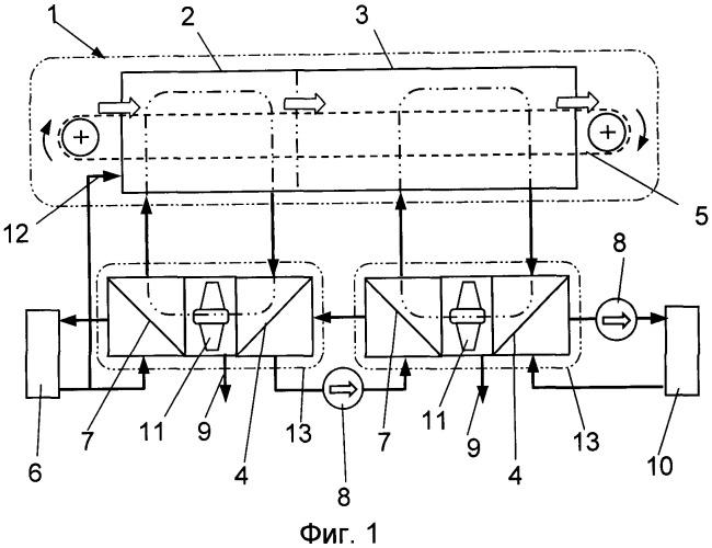 Устройство для сушки осадка, активного ила или отстоя промышленных и бытовых сточных вод