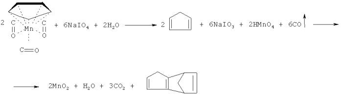 Индикаторное средство для определения цимантрена в бензине