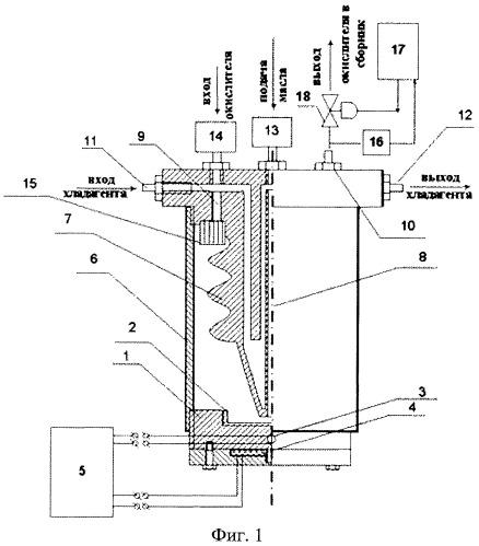 Установка для оценки склонности компрессорных масел к образованию высокотемпературных отложений
