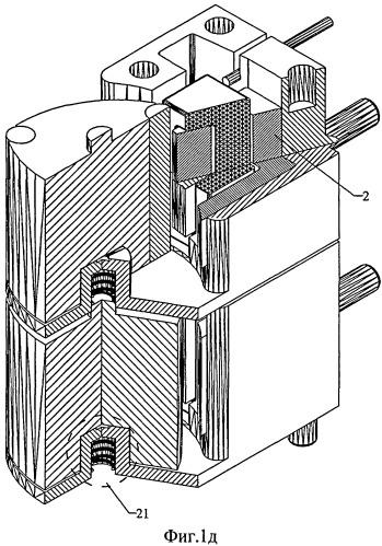 Электромеханический привод трехцветной индикаторной головки элемента растрового изображения